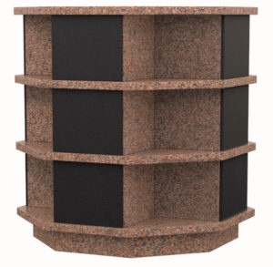 Columbarium Ellebore – 12 cases – Rose Karina