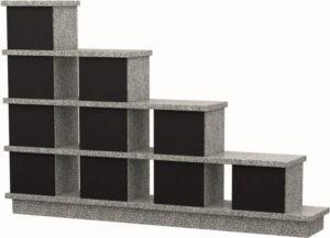 Columbarium Lilas – 10 cases – Gris Zéphir